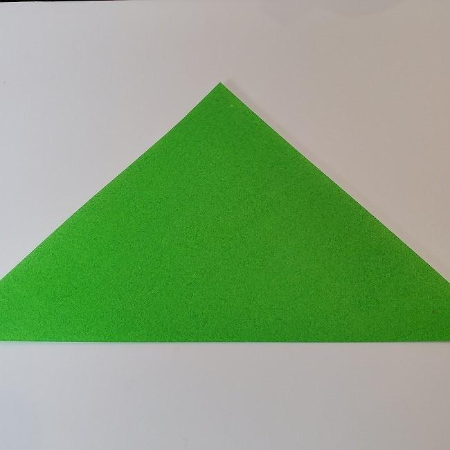 折り紙 菜の花(立体)の折り方作り方2土台 (2)