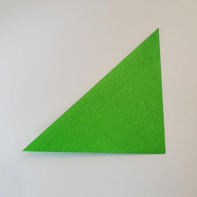 折り紙 菜の花(立体)の折り方作り方2土台 (3)