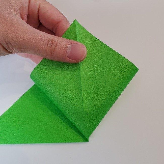 折り紙 菜の花(立体)の折り方作り方2土台 (4)