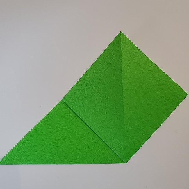 折り紙 菜の花(立体)の折り方作り方2土台 (5)