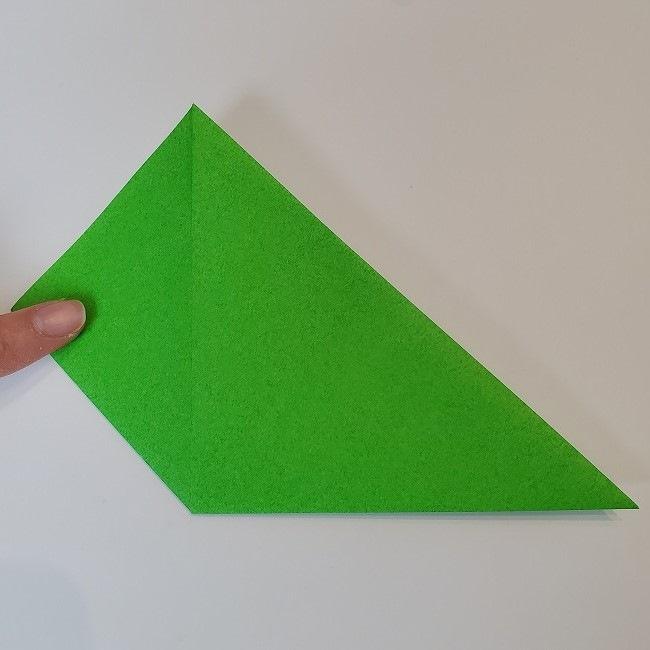 折り紙 菜の花(立体)の折り方作り方2土台 (6)