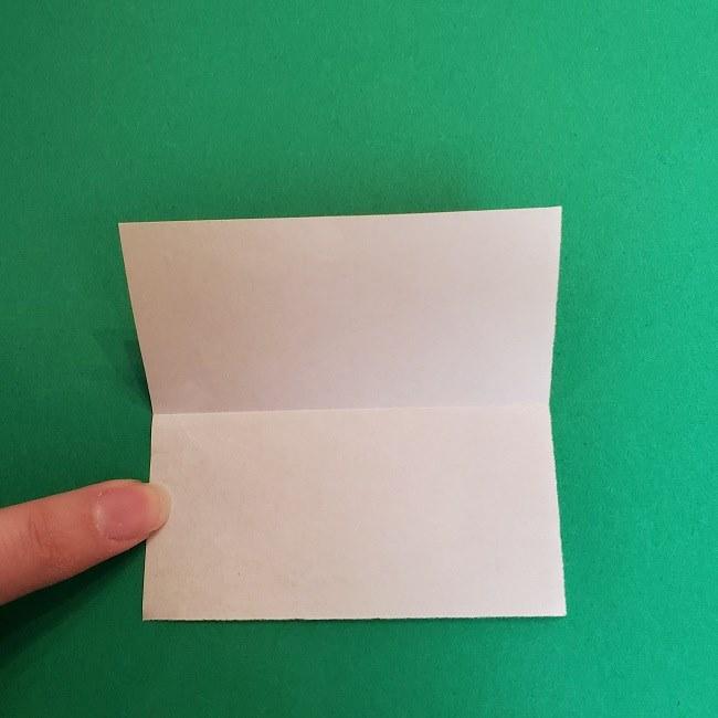 折り紙 魔女の宅急便『キキ』折り方作り方1顔 (3)