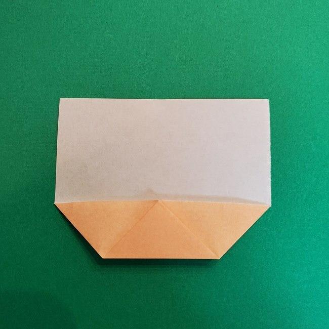 折り紙 魔女の宅急便『キキ』折り方作り方1顔 (5)
