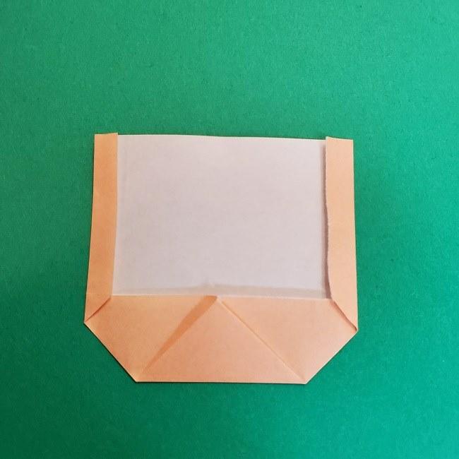 折り紙 魔女の宅急便『キキ』折り方作り方1顔 (6)