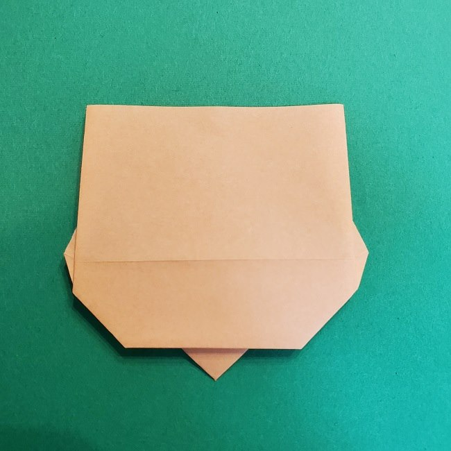 折り紙 魔女の宅急便『キキ』折り方作り方1顔 (9)