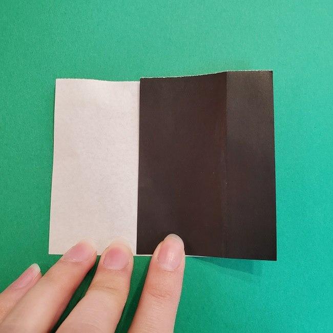 折り紙 魔女の宅急便『キキ』折り方作り方2髪の毛 (10)