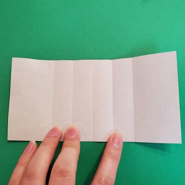 折り紙 魔女の宅急便『キキ』折り方作り方2髪の毛 (11)