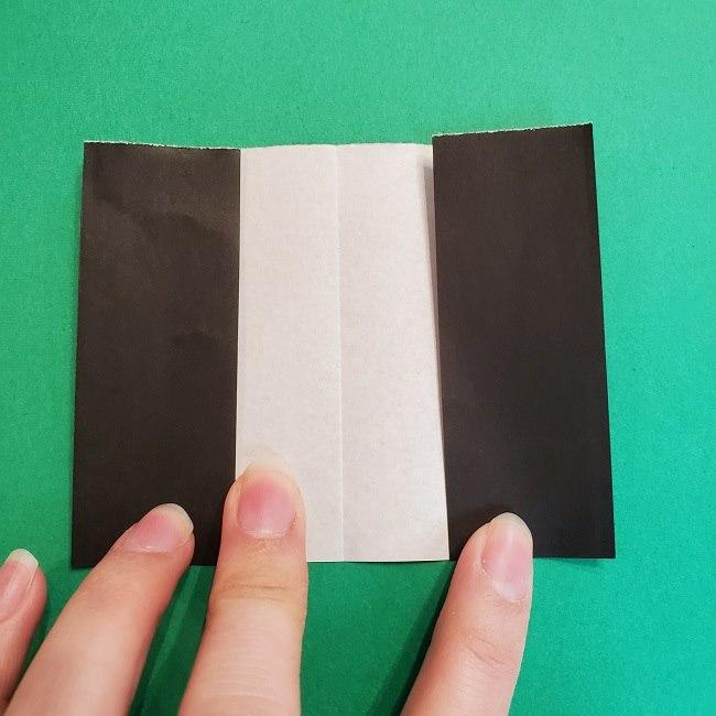 折り紙 魔女の宅急便『キキ』折り方作り方2髪の毛 (12)