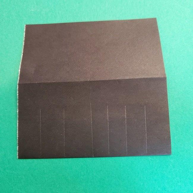 折り紙 魔女の宅急便『キキ』折り方作り方2髪の毛 (18)