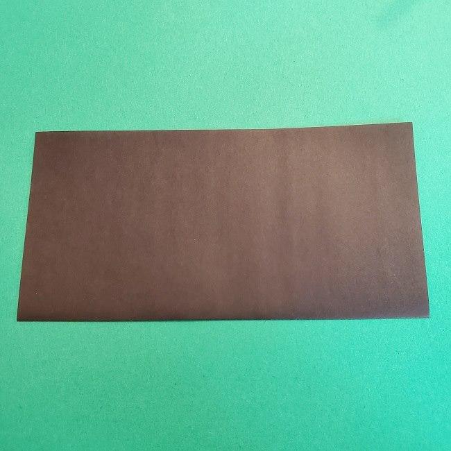 折り紙 魔女の宅急便『キキ』折り方作り方2髪の毛 (2)