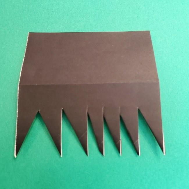折り紙 魔女の宅急便『キキ』折り方作り方2髪の毛 (23)