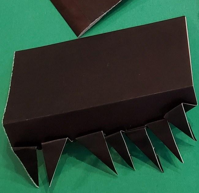 折り紙 魔女の宅急便『キキ』折り方作り方2髪の毛 (24)