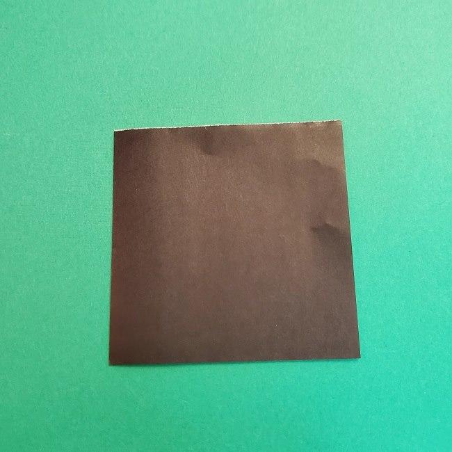 折り紙 魔女の宅急便『キキ』折り方作り方2髪の毛 (5)