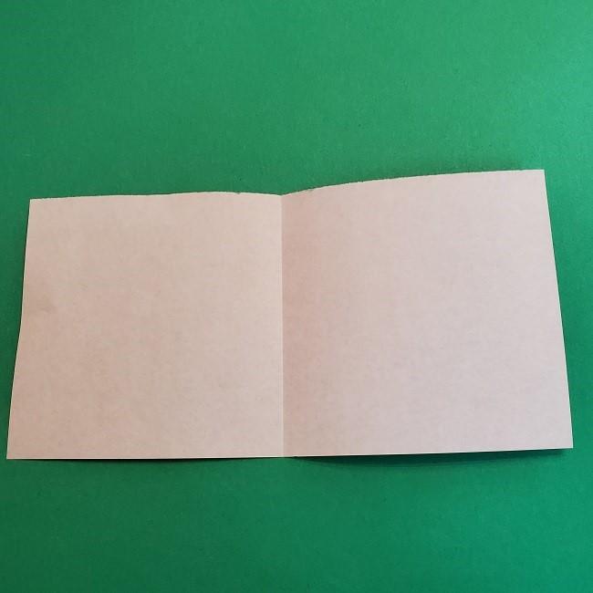 折り紙 魔女の宅急便『キキ』折り方作り方2髪の毛 (6)