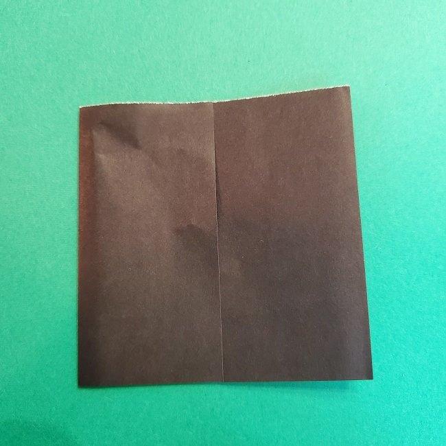 折り紙 魔女の宅急便『キキ』折り方作り方2髪の毛 (7)