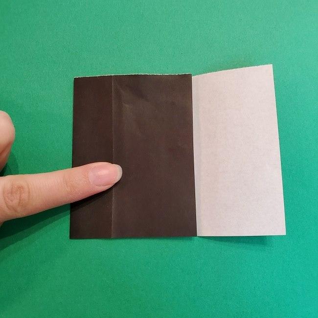 折り紙 魔女の宅急便『キキ』折り方作り方2髪の毛 (9)