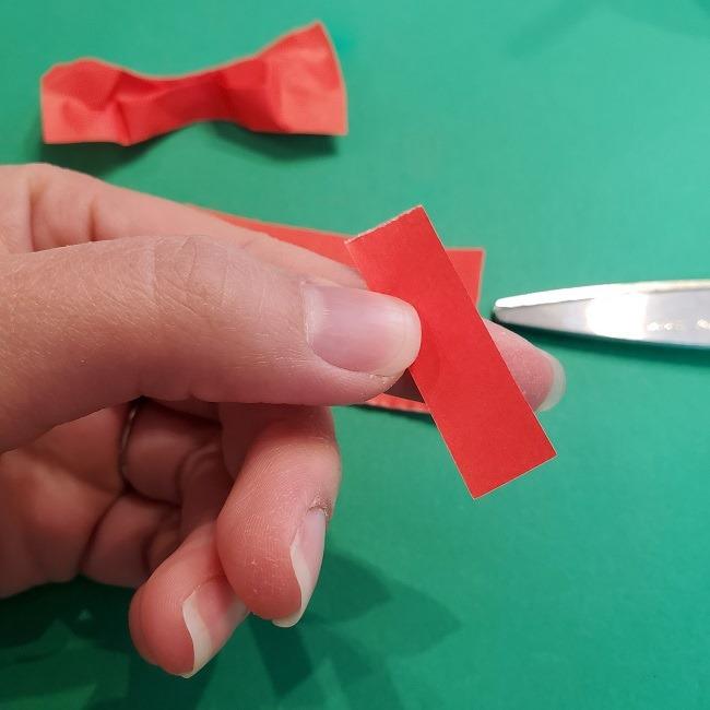 折り紙 魔女の宅急便『キキ』折り方作り方3リボン (11)