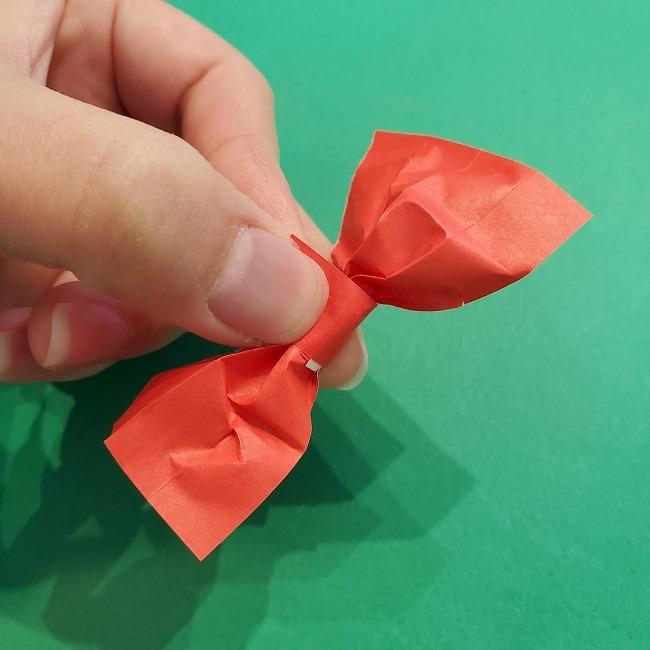 折り紙 魔女の宅急便『キキ』折り方作り方3リボン (12)