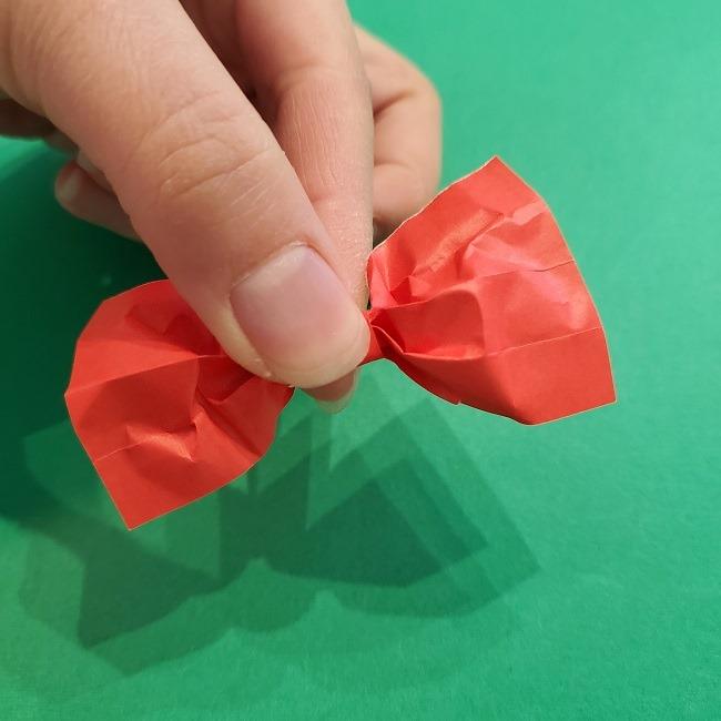 折り紙 魔女の宅急便『キキ』折り方作り方3リボン (14)