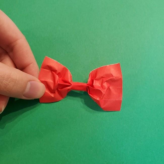 折り紙 魔女の宅急便『キキ』折り方作り方3リボン (15)