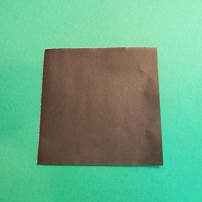折り紙 魔女の宅急便『キキ』折り方作り方4服 (1)