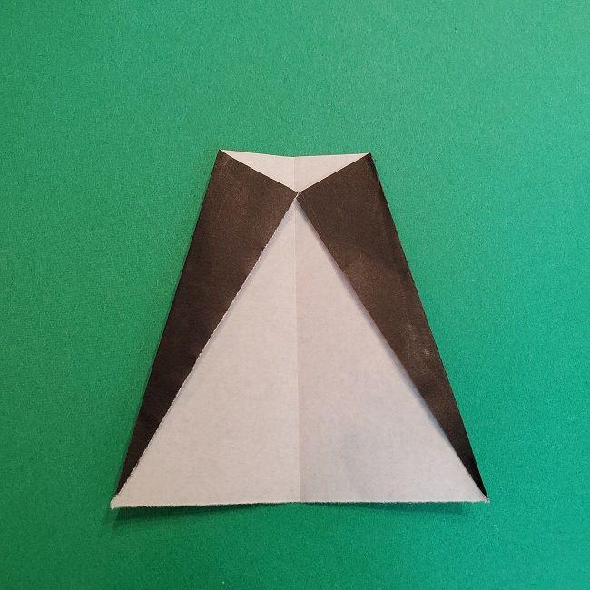 折り紙 魔女の宅急便『キキ』折り方作り方4服 (4)