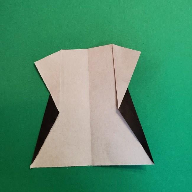折り紙 魔女の宅急便『キキ』折り方作り方4服 (5)