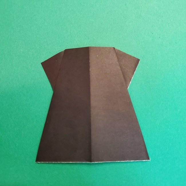 折り紙 魔女の宅急便『キキ』折り方作り方4服 (6)