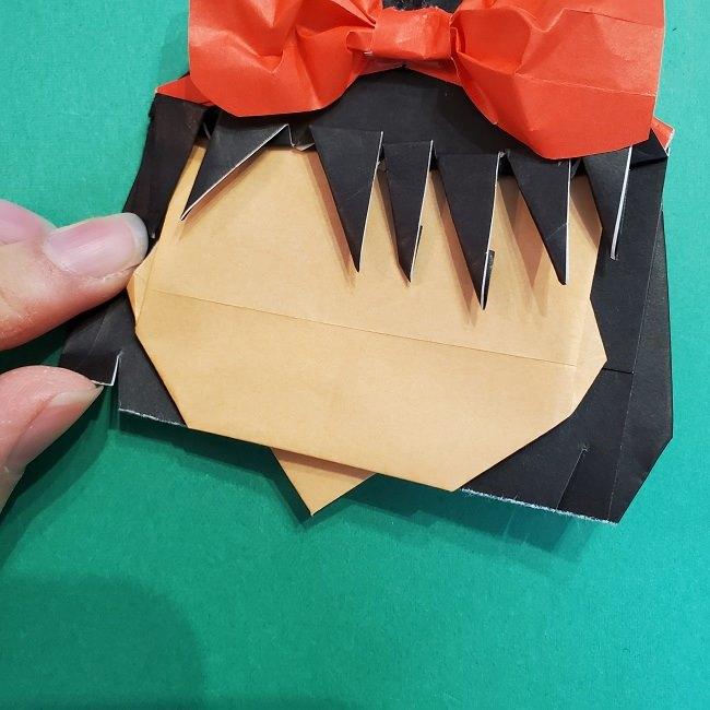 折り紙 魔女の宅急便『キキ』折り方作り方5完成 (12)
