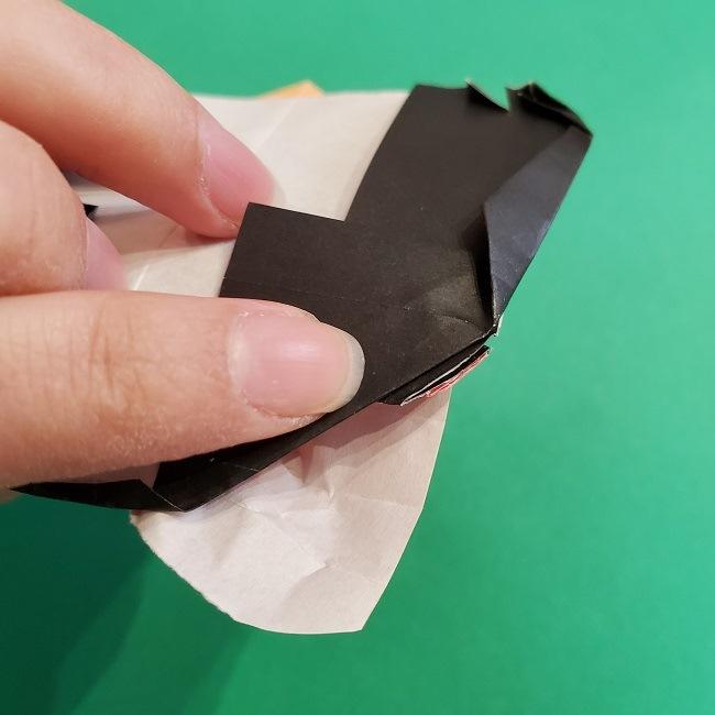 折り紙 魔女の宅急便『キキ』折り方作り方5完成 (14)