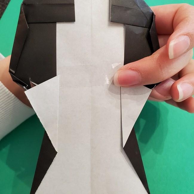 折り紙 魔女の宅急便『キキ』折り方作り方5完成 (16)