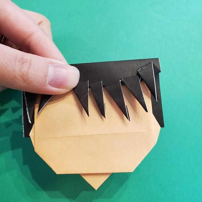 折り紙 魔女の宅急便『キキ』折り方作り方5完成 (2)