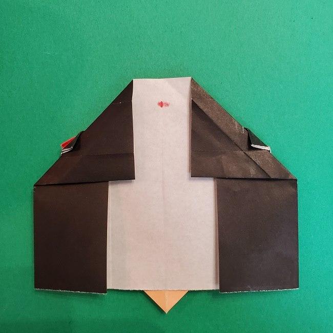 折り紙 魔女の宅急便『キキ』折り方作り方5完成 (5)