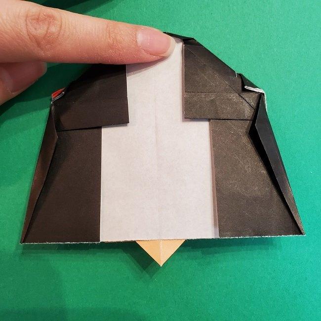 折り紙 魔女の宅急便『キキ』折り方作り方5完成 (6)