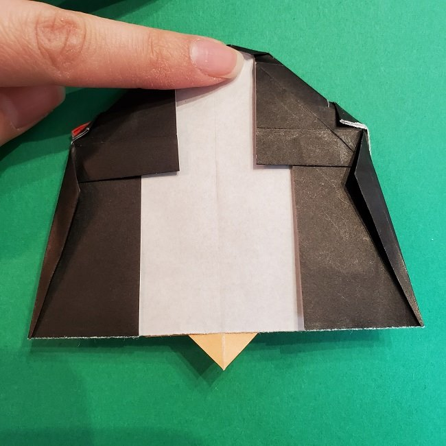 折り紙 魔女の宅急便『キキ』折り方作り方5完成 (7)