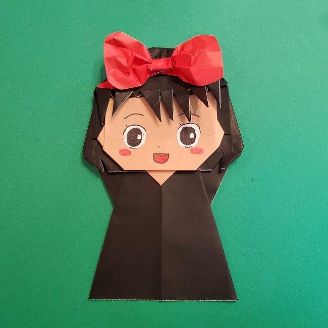 折り紙 魔女の宅急便 キキの折り方作り方★ジブリキャラクター