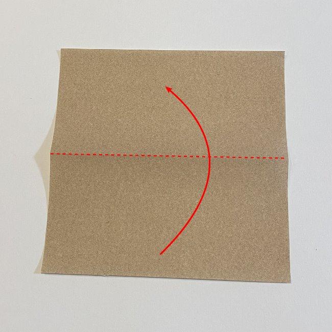 春の折り紙つくしの簡単な折り方作り方 (1)