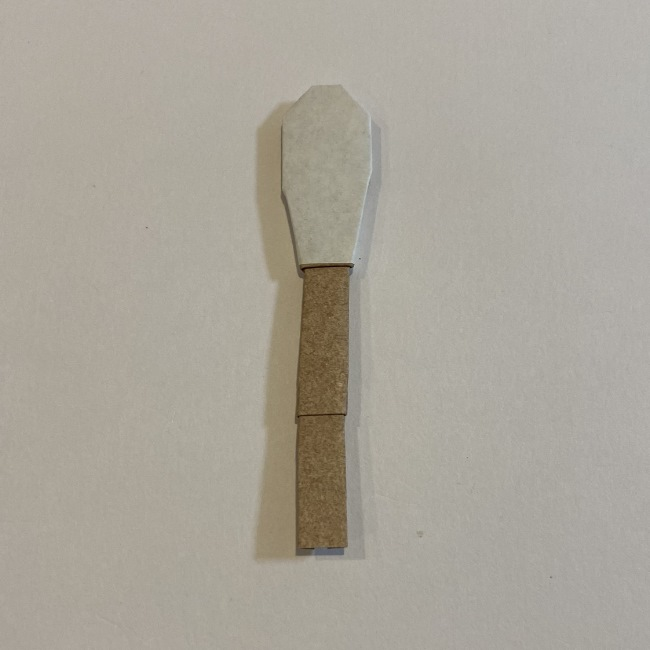 春の折り紙つくしの簡単な折り方作り方 (12)