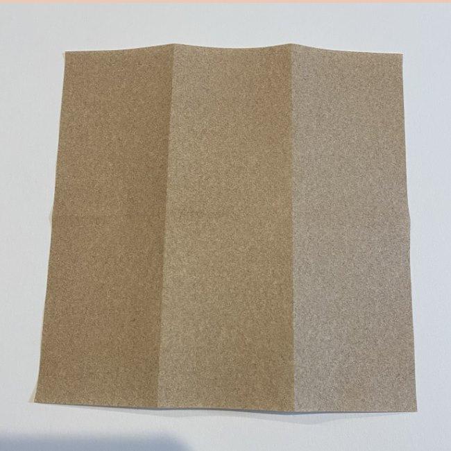 春の折り紙つくしの簡単な折り方作り方 (2)