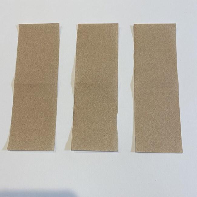 春の折り紙つくしの簡単な折り方作り方 (3)
