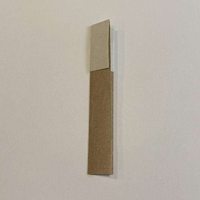 春の折り紙つくしの簡単な折り方作り方 (6)