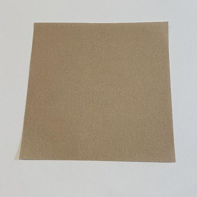 春の折り紙つくしの簡単な折り方作り方