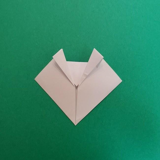 真菰のお面の折り紙 折り方 (10)