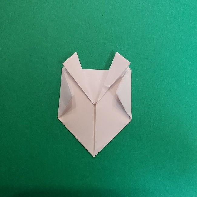真菰のお面の折り紙 折り方 (11)