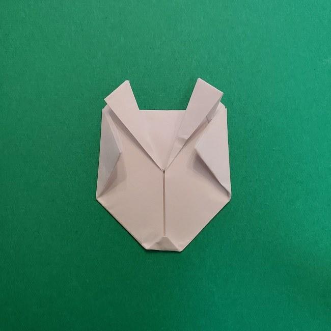 真菰のお面の折り紙 折り方 (12)