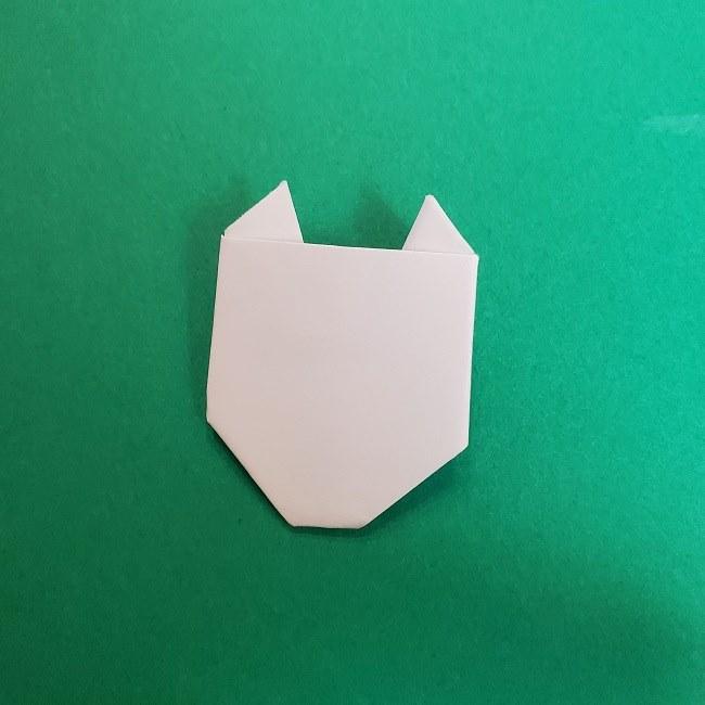 真菰のお面の折り紙 折り方 (13)