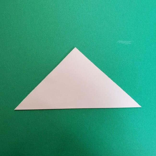 真菰のお面の折り紙 折り方 (2)