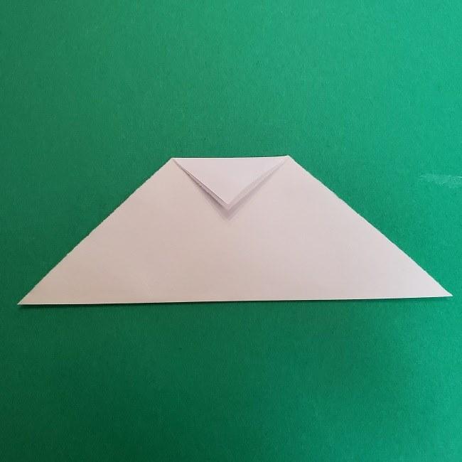 真菰のお面の折り紙 折り方 (3)
