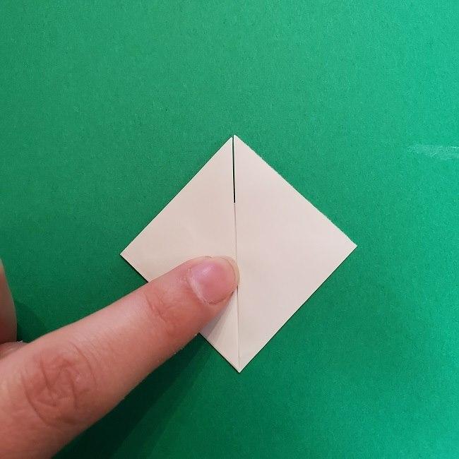 真菰のお面の折り紙 折り方 (4)