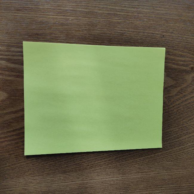 菜の花の折り紙 切り方作り方 (1)
